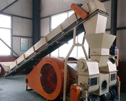 punching briquetting machine