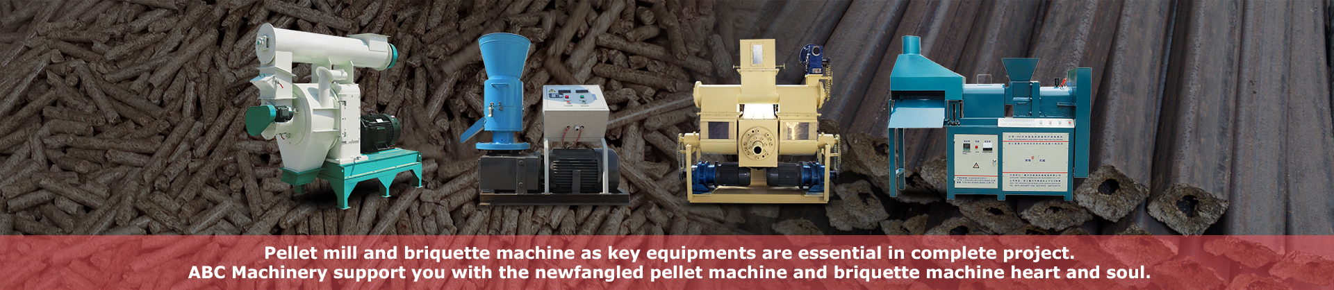 pellet mill and briquette machine