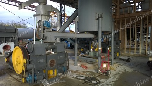 2T/H Wood Briquetting Plant in Canada
