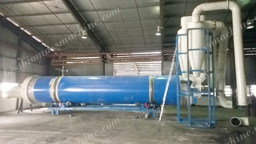 3t/h drying system