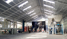 4.5-6T/H Sawdust Pellet Plant in Chile