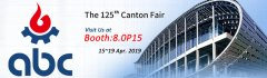 ABC Machinery will Attend the 125th Spring Canton Fair 2019
