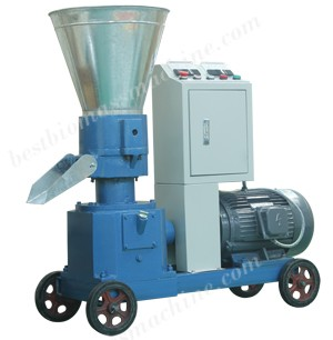 Electric Motor-driven Flat Die Pellet Mill