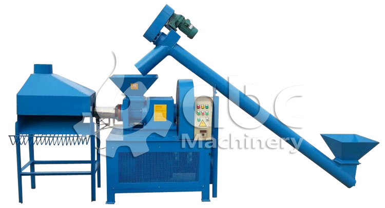 GCBA-II wood charcoal making machine