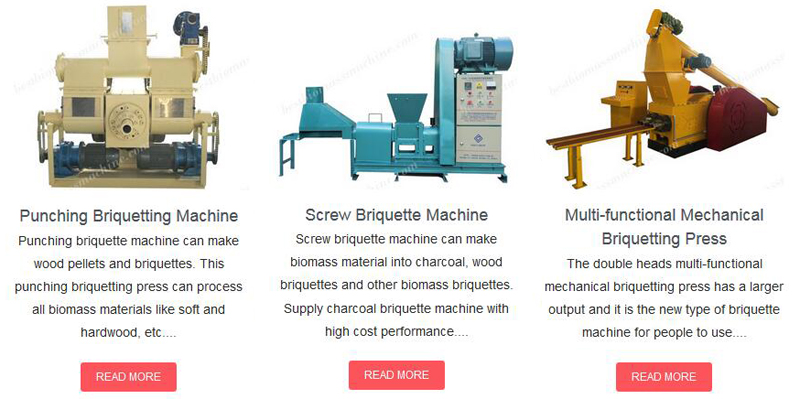 GEMCO briquetting machines