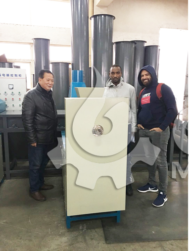 Ethiopian Client's Visit on Briquette Machine Plant for Production Expansion