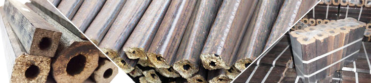 biomass wood and charcoal briquettes