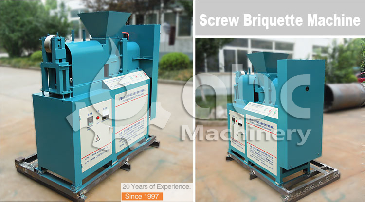 Charcoal briquette machinery