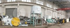 Punching Briquette Machinery Making Peanut Shell for India Client