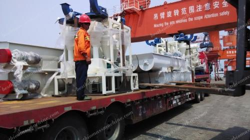 conveyor for vietnam pellet plant