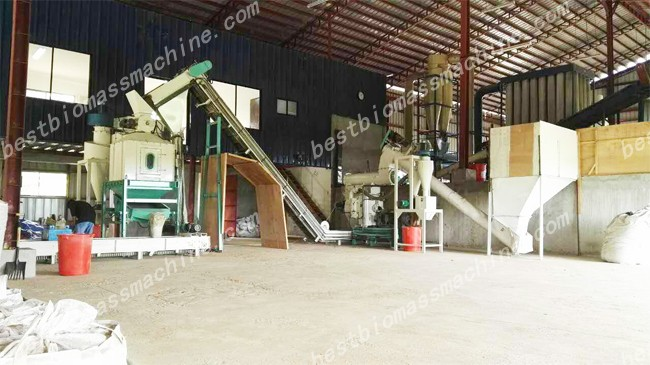 cooling and pelleting system