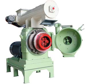 Cotton stalk pellet mill