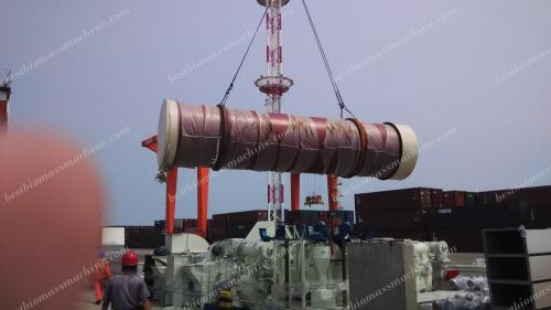 drum dryer for vietnam pellet plant