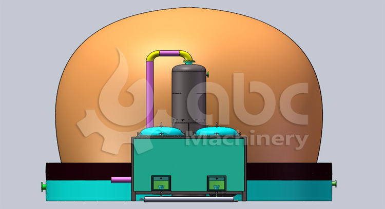 Dry Distillation Carbonization furnace
