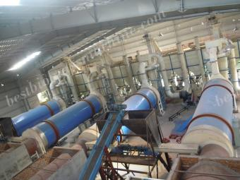 drying and pelleting system