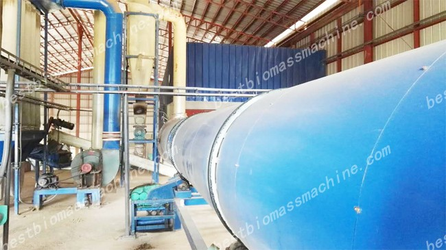 drying machine for elephant grass pellet plant