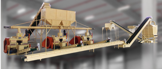 Fuel Briquette Press Plant