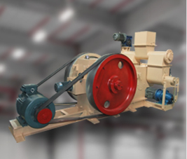 Fuel Briquette Press Used in Plant