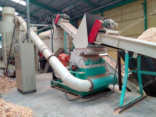 hammer mill for sawdust pellet production plant
