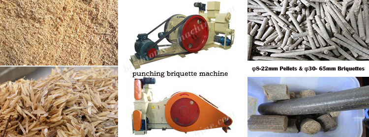 industry briquetting machine