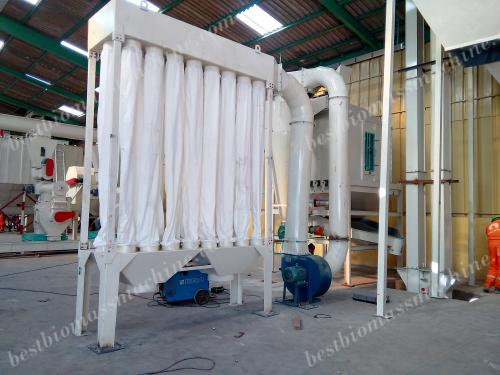 pellet cooler for sawdust pellet production plant