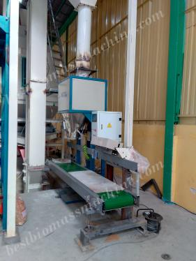 pellet packing machine for sawdust pellet production plant