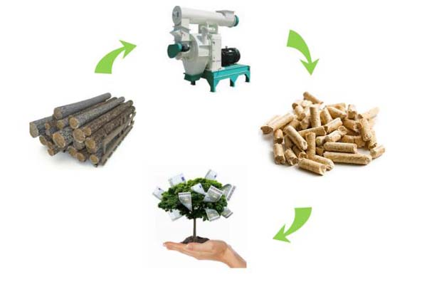 pellet production process