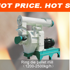 ring die pellet making machine