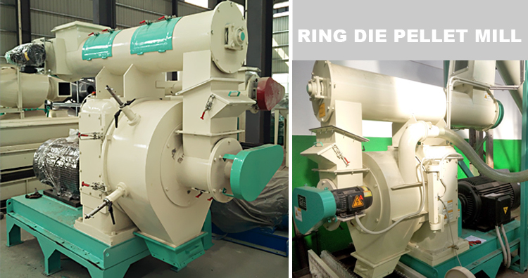 ring die wood pelletizer machine
