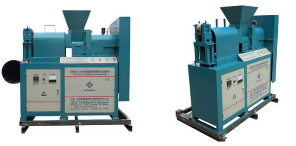 screw briquetting machine
