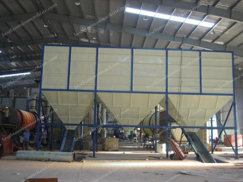 stock bin for vietnam pellet plant