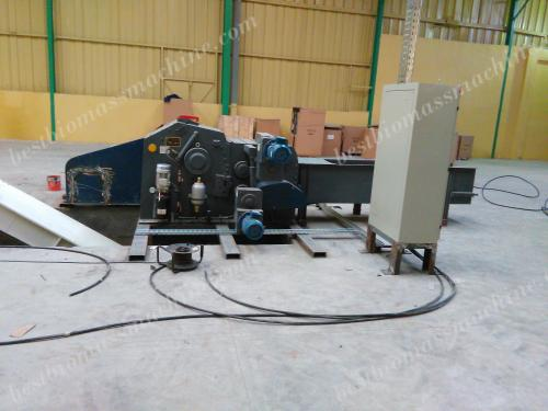 wood chipper machine for sawdust pellet production plant
