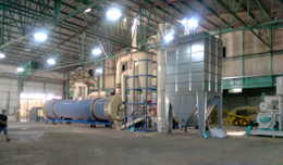 2-3Ton Wood Pellet Production Line in Israel