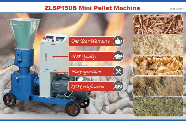 ZLSP150B Mini Pellet Machine